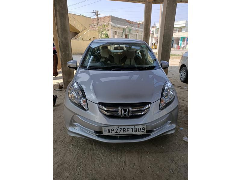 Used 2015 Honda Amaze Car In Ongole
