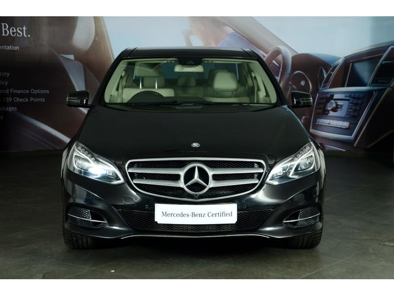 Used 2015 Mercedes Benz E Class Car In Ghaziabad