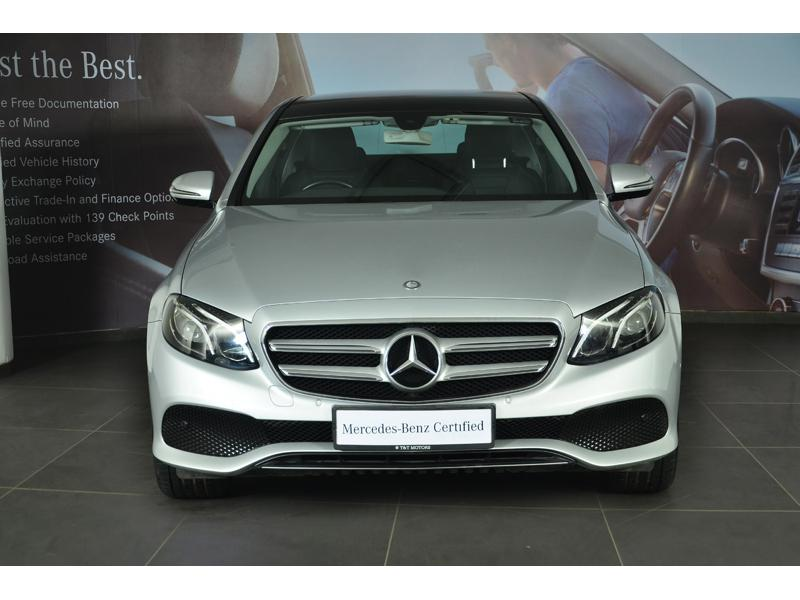 Used 2017 Mercedes Benz E Class Car In Ghaziabad