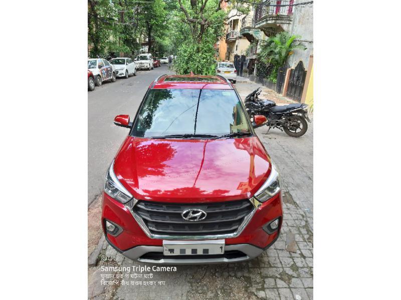 Used 2018 Hyundai Creta Car In Kolkata
