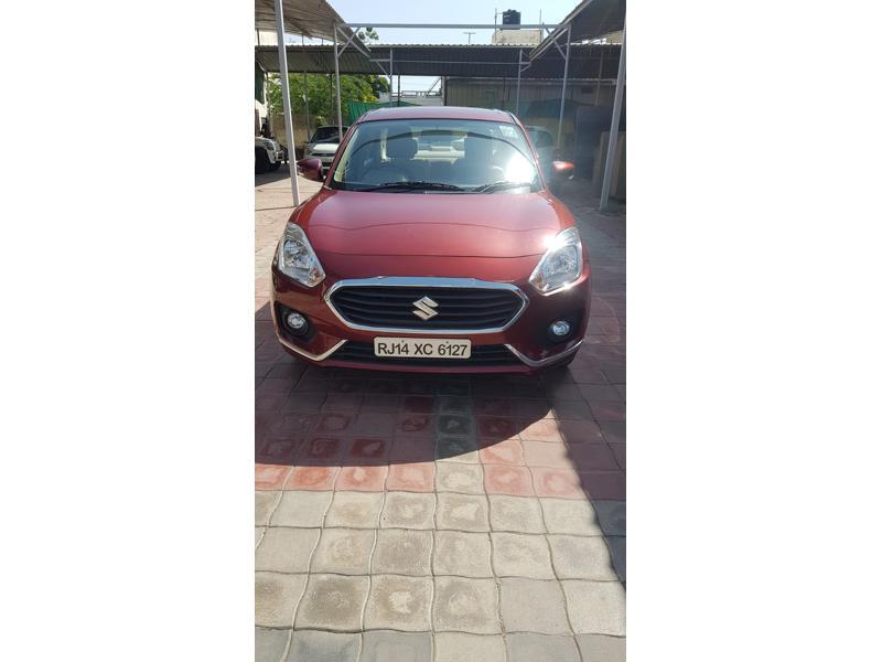 Used 2017 Maruti Suzuki New Swift DZire Car In Alwar