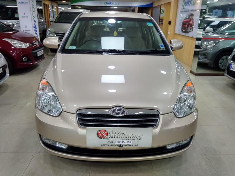 Used 2009 Hyundai Verna Car In Dharwad
