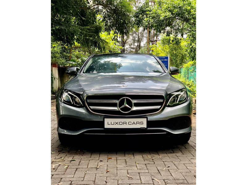 Used 2018 Mercedes Benz E Class Car In Pune