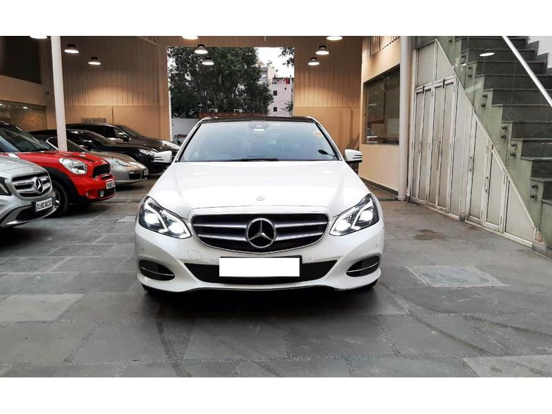 Used 2016 Mercedes Benz E Class Car In Gurgaon