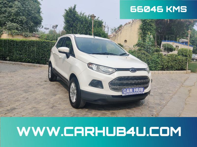 Used 2014 Ford EcoSport Car In New Delhi