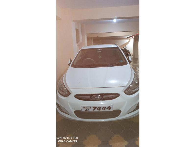 Used 2012 Hyundai Verna Car In Solapur
