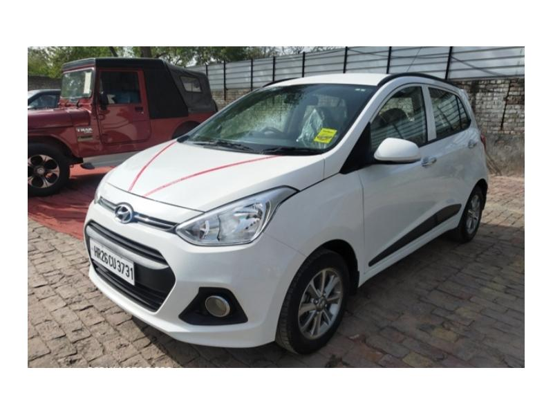 Used 2015 Hyundai Grand i10 Car In Yamunanagar