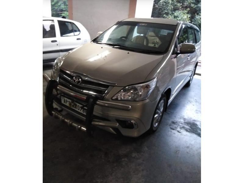 Used 2013 Toyota Innova Car In Ongole