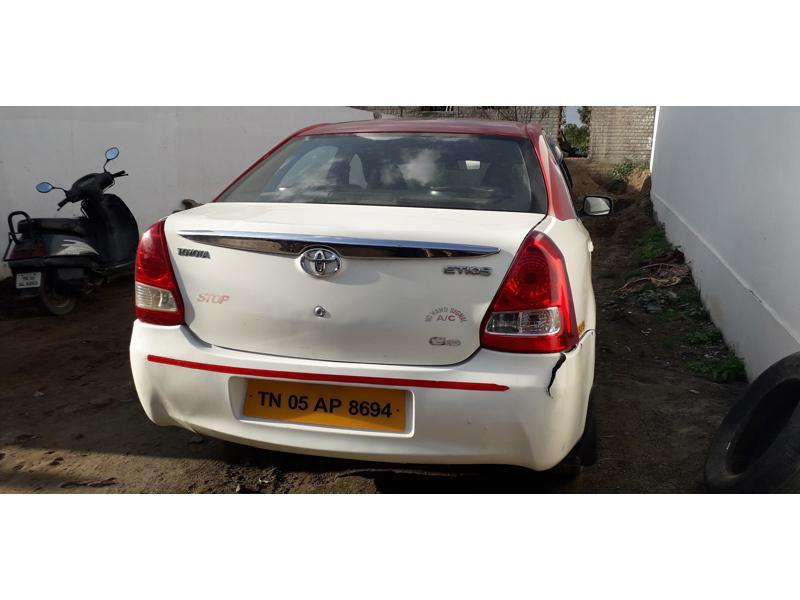 Used 2012 Toyota Etios Car In Erode