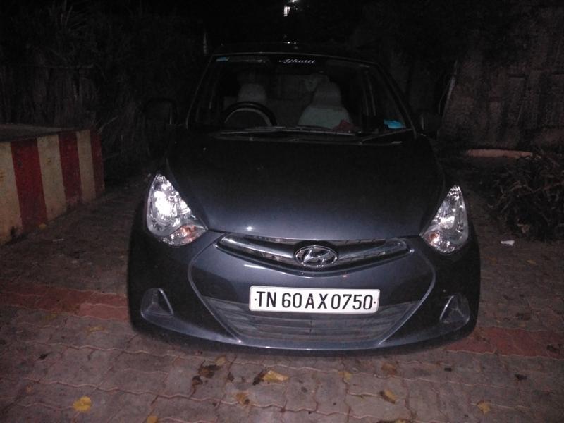 Used 2017 Hyundai Eon Car In Madurai