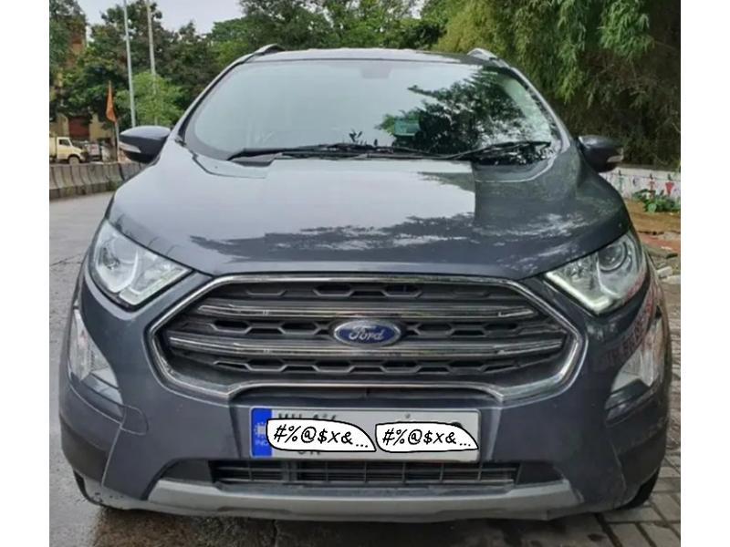 Used 2018 Ford EcoSport Car In Pimpri-Chinchwad