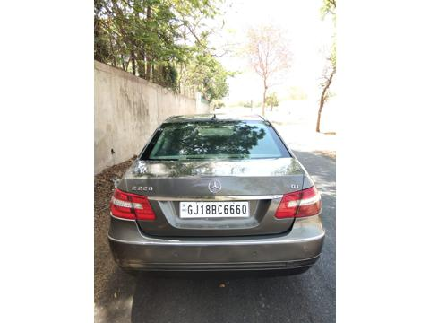 Mercedes Benz E Class E220 CDI Blue Efficiency (2013) in Ahmedabad