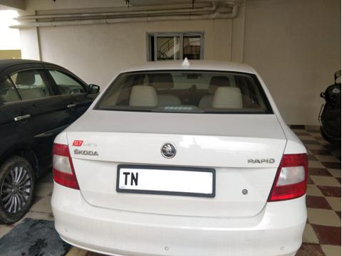 Skoda Rapid 1.5 TDI CR Ambition AT with Alloy Wheels (2015) in Hosur
