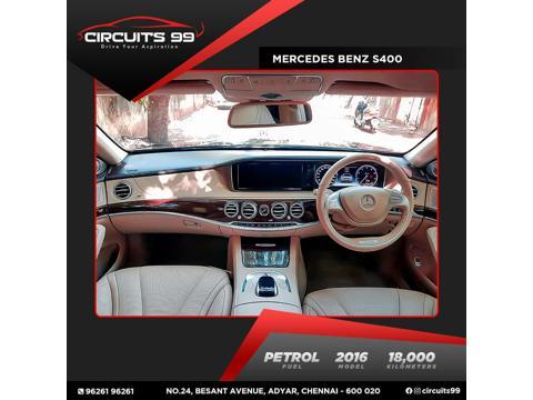 Mercedes Benz S Class S 400 (2016) in Chennai