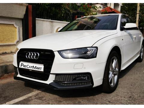 Audi A4 2.0 TDI (177bhp) Premium Sport (2014) in Bangalore
