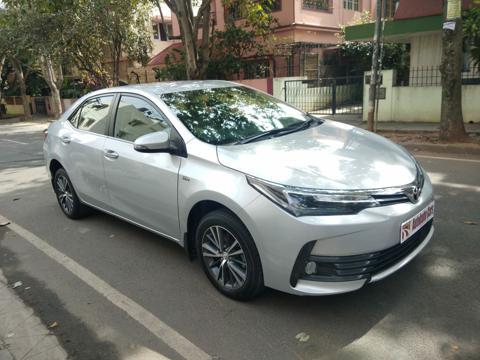 Toyota Corolla Altis 1.8V L (2017) in Bangalore