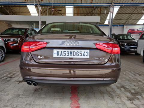 Audi A4 35 TDI Premium Sunroof (2016) in Bangalore