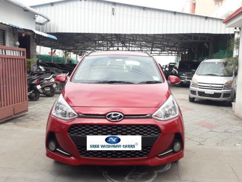 Hyundai Grand i10 Sportz 1.2 VTVT Kappa Petrol (2019) in Coimbatore