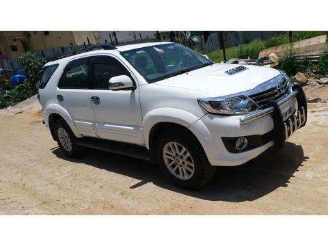 Toyota Fortuner 4x2 AT (2013) in Hyderabad