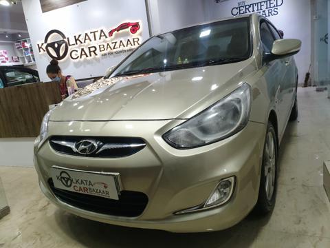 Hyundai Verna Fluidic 1.6 VTVT SX (2013) in Kolkata
