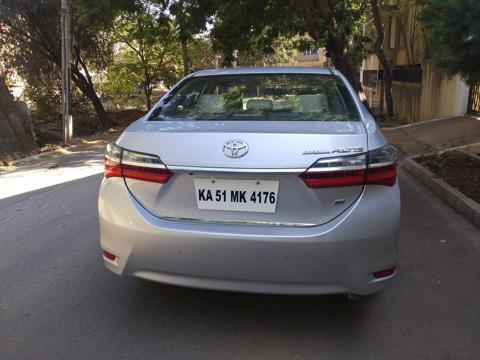 Toyota Corolla Altis 1.8G L (2017) in Bangalore