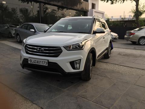 Hyundai Creta SX+ 1.6 U2 VGT CRDI AT (2015) in New Delhi