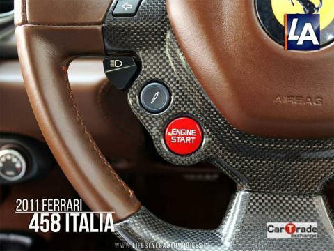 Ferrari 458 Italia Coupe (2011) in Durgapur