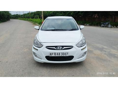 Hyundai Verna Fluidic 1.6 CRDI SX Opt (2011) in Hyderabad