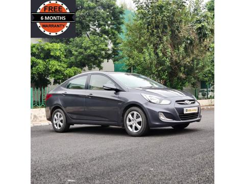 Hyundai Verna Fluidic 1.6 VTVT (2014) in Faridabad