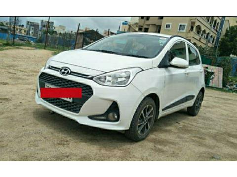 Hyundai Grand i10 Sportz (O) AT 1.2 Kappa VTVT (2017) in Hyderabad