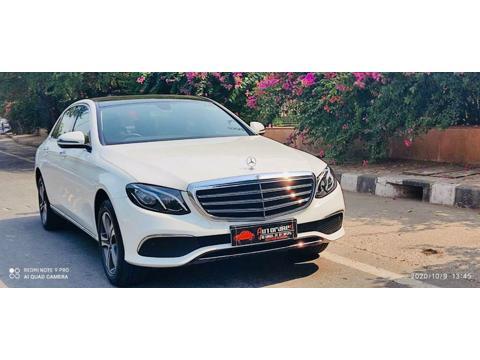 Mercedes Benz E Class E 220d Exclusive (2020) in Faridabad