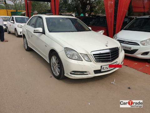 Mercedes Benz E Class E220 CDI Blue Efficiency (2012) in Alwar