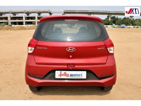 Hyundai Santro Sportz AMT (2019) in Ahmedabad