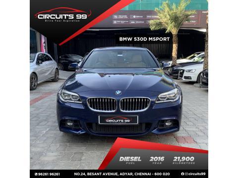 BMW 5 Series 530d Sedan M Sport (2016) in Chennai