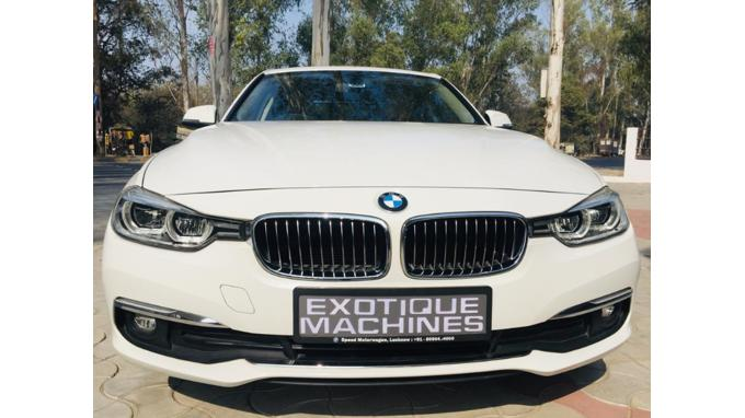 Used 2017 BMW 3 Series Car In Lucknow
