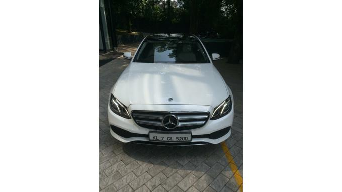 Used 2017 Mercedes Benz E Class Car In Thrissur