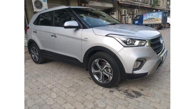 Used 2018 Hyundai Creta Car In Ahmedabad