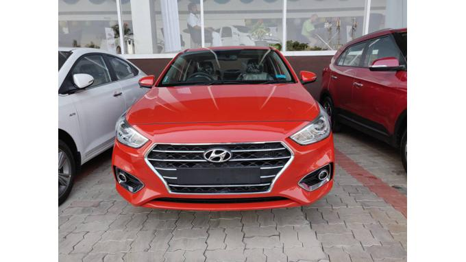 Used 2019 Hyundai Verna Car In Thrissur