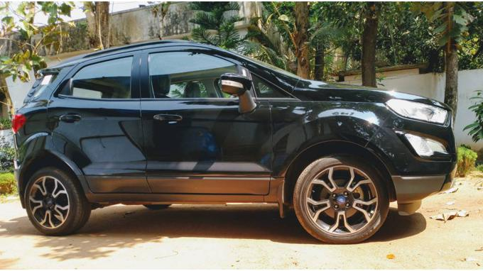 Used 2018 Ford EcoSport Car In Thrissur