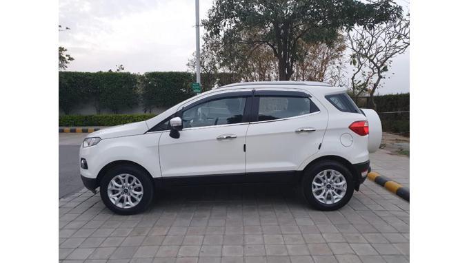 Used 2016 Ford EcoSport Car In Faridabad