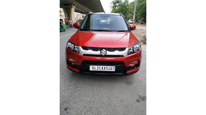 Used 2017 Maruti Suzuki Vitara Brezza Car In New Delhi