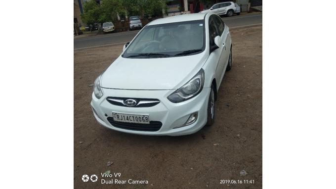 Used 2012 Hyundai Verna Car In Alwar