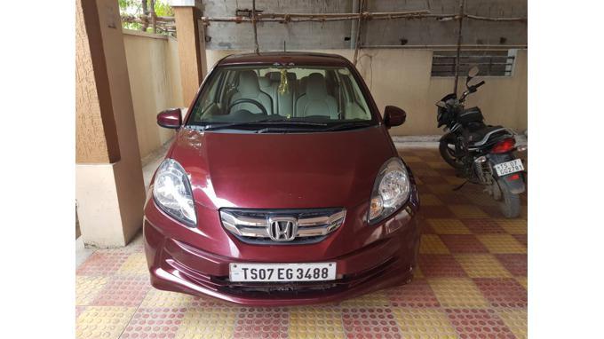 Used 2015 Honda Amaze Car In Hyderabad