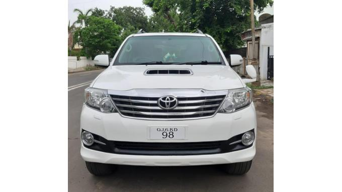 Used 2016 Toyota Fortuner Car In Ahmedabad