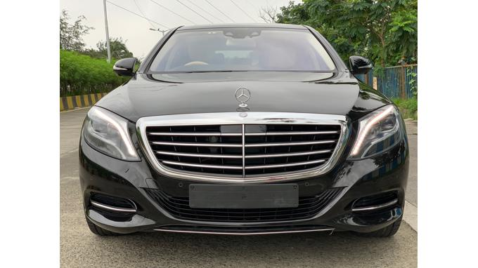 Used 2015 Mercedes Benz S Class Car In Mumbai
