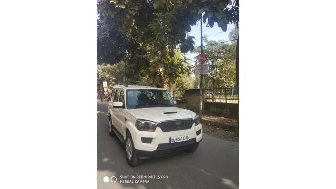 Used 2015 Mahindra Scorpio Car In New Delhi