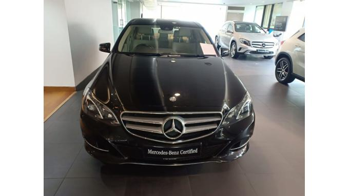 Used 2016 Mercedes Benz E Class Car In Udaipur