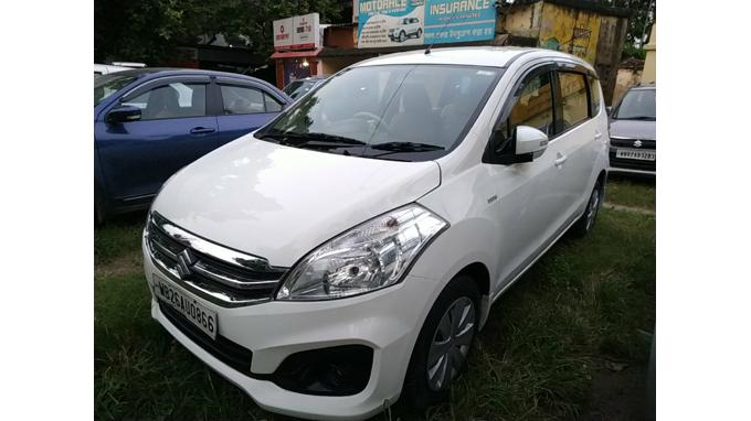 Used 2017 Maruti Suzuki Ertiga Car In Kolkata