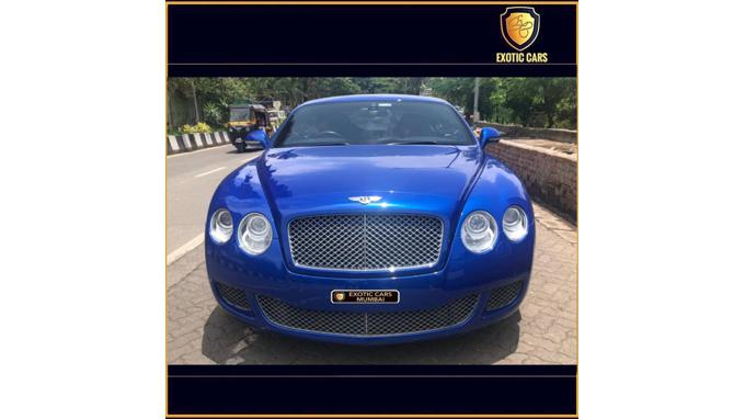 Used 2009 Bentley Continental GT Car In Mumbai