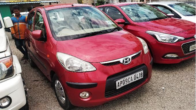 Used 2010 Hyundai i10 Car In Hyderabad